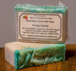 Camel Milk Soap- Purely Herbal